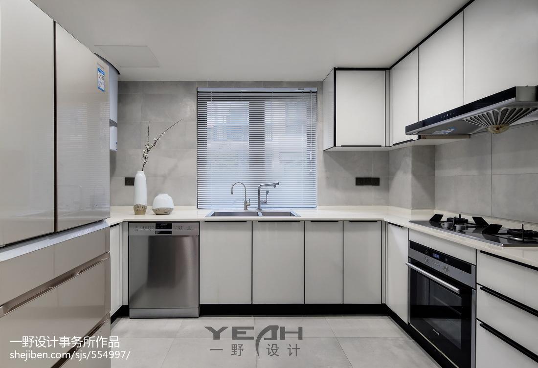 2018精选现代别墅厨房装修欣赏图片