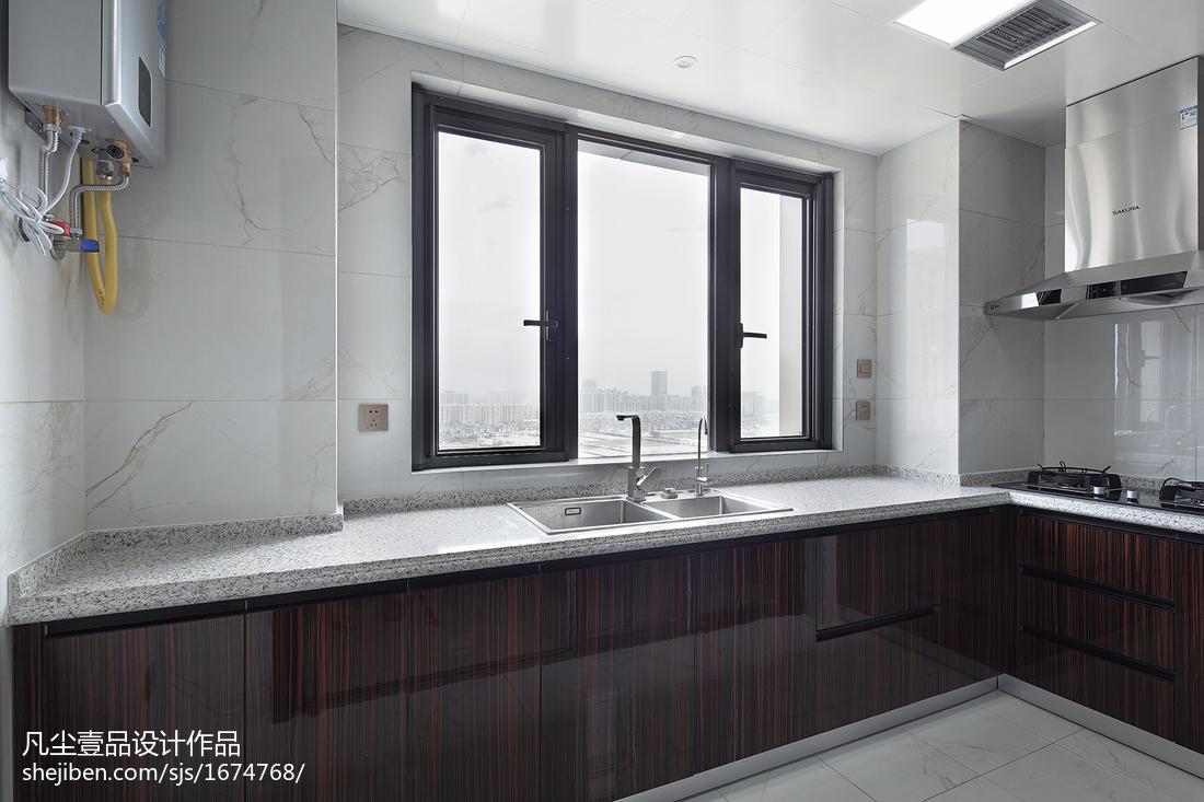 悠雅151平中式四居廚房裝飾圖
