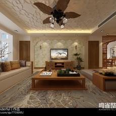 现代简约20平米客厅装修效果图欣赏