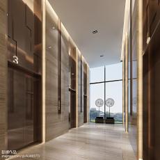 美式风格餐厅实木装修效果图