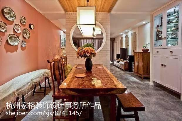 面积83平现代二居装修图片