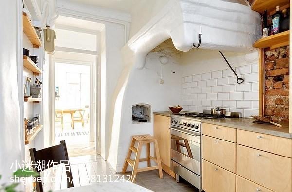 宜家风格复式家居厨房装饰效果图