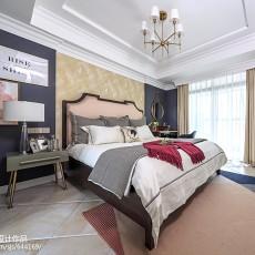 大气109平美式三居卧室装饰图