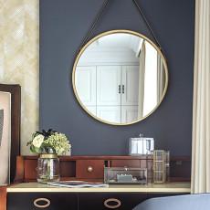 悠雅102平美式三居卧室图片欣赏