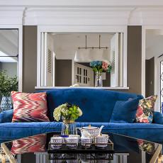质朴120平美式三居客厅设计美图