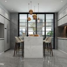 精美四居厨房现代装修实景图片