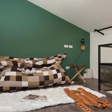 精美面积132平复式卧室现代实景图片欣赏
