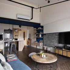 精美面积125平复式客厅现代装修设计效果图片欣赏
