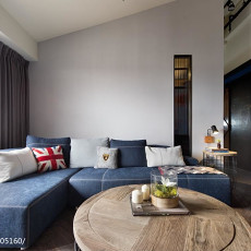 精选127平米现代复式客厅装修实景图