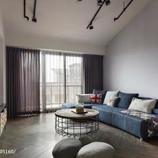 118平米现代复式客厅装修欣赏图