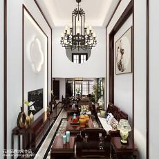 现代欧式三室两厅室内装修效果图大全