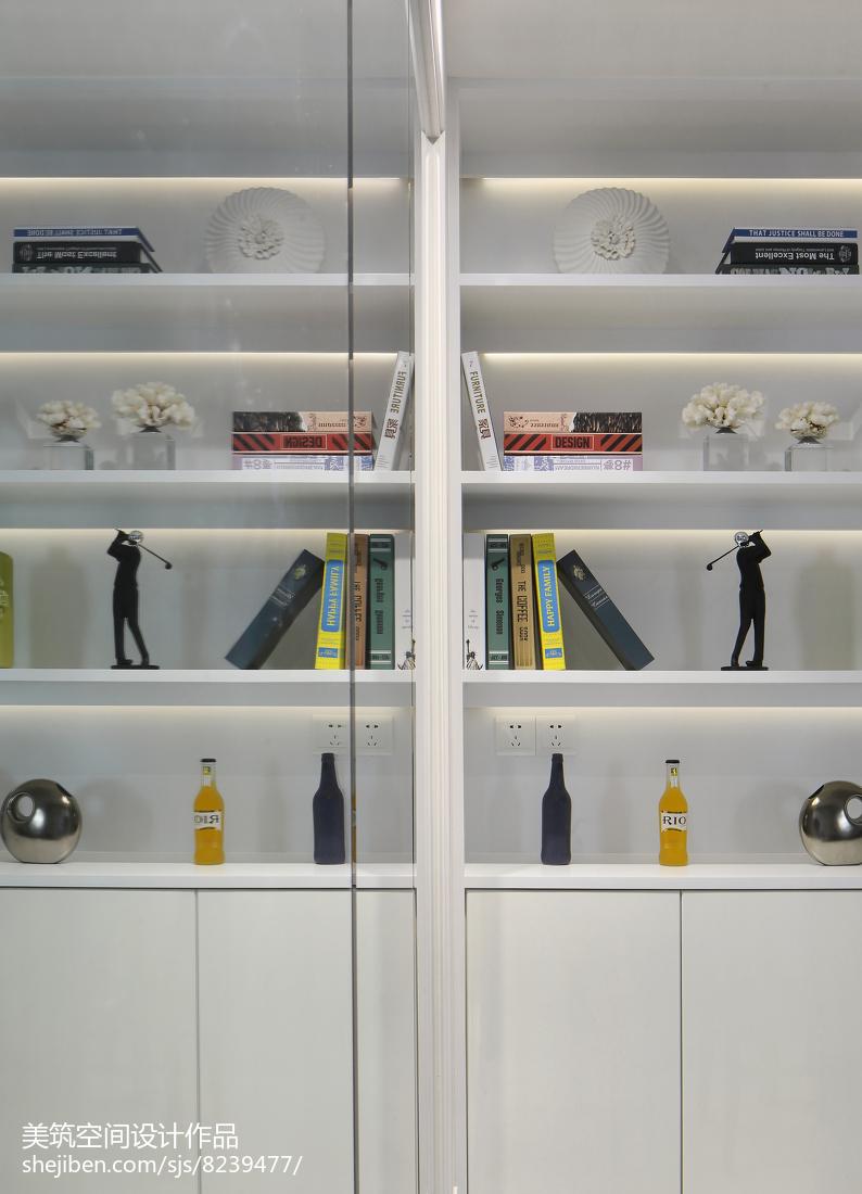精选107平米三居餐厅现代装修效果图片欣赏