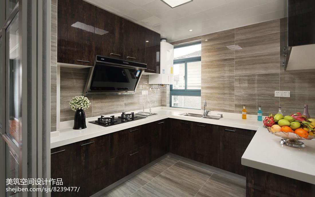 精选94平米三居厨房现代装修欣赏图