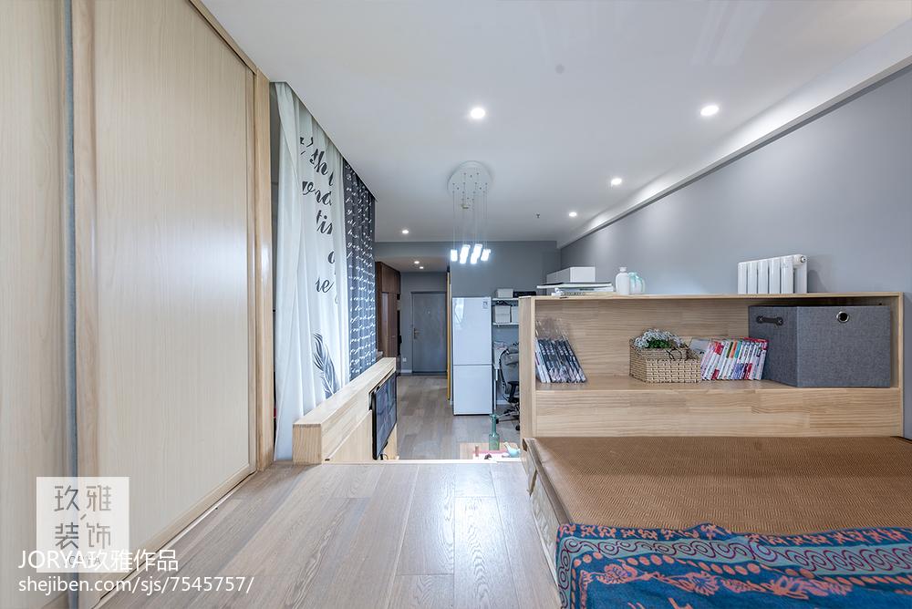 优雅22平简约小户型卧室设计图
