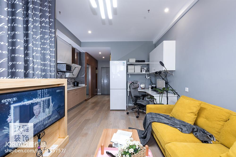 简约小户型客厅设计
