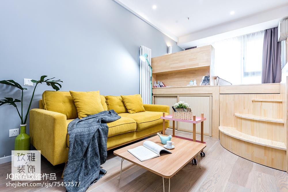 简约风格小户型客厅设计图片