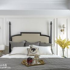 精选103平米三居卧室美式实景图片