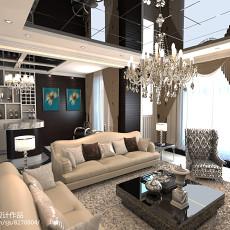 精选面积113平别墅休闲区欧式装修设计效果图片欣赏