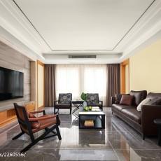 精美面积96平现代三居客厅装饰图片欣赏