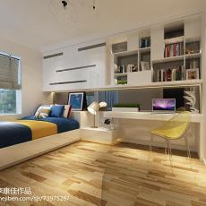 现代风格三室两厅装修样板间效果图