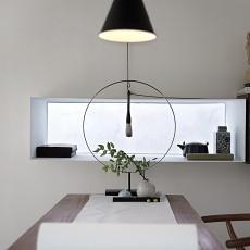 典雅88平中式二居书房设计美图