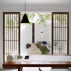精美63平中式二居书房装修图
