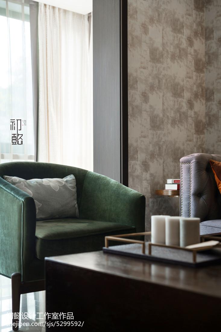 热门143平米四居客厅混搭装修实景图片