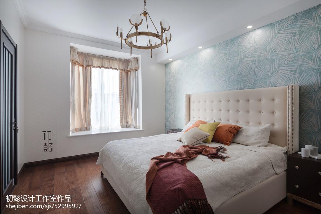 精选面积116平混搭四居卧室装修欣赏图片大全
