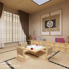 精美面积123平别墅休闲区欧式装修设计效果图片