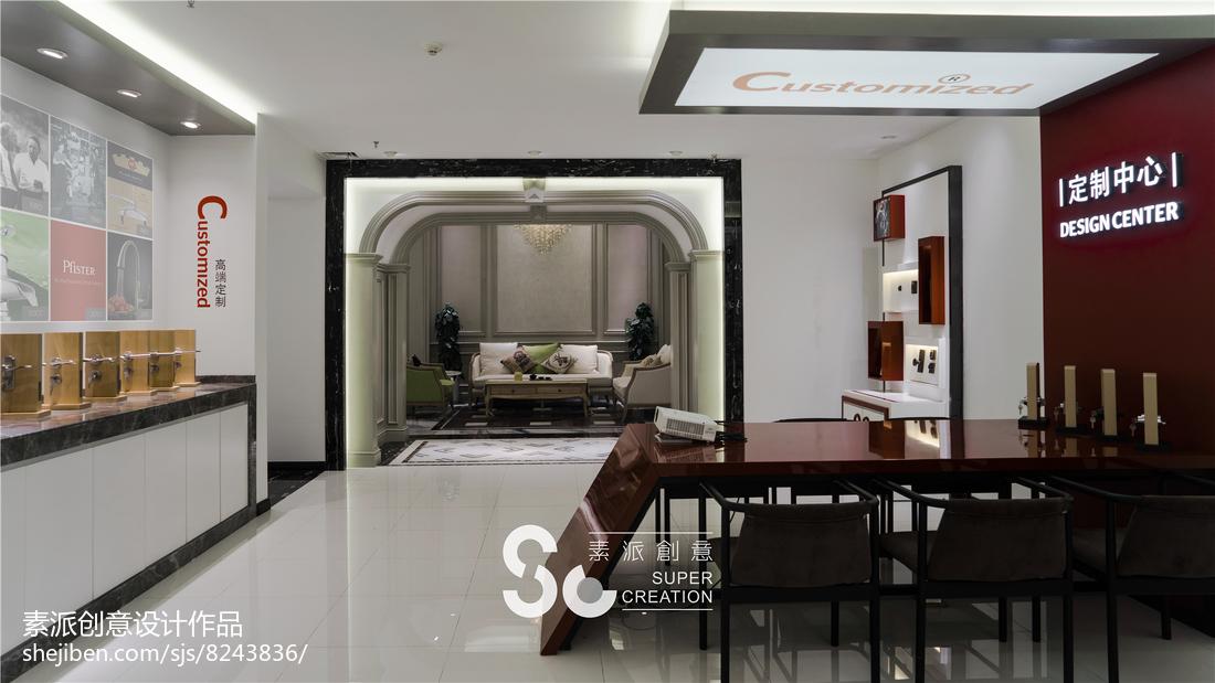 美式装修设计客厅电视背景墙图欣赏