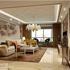北欧风格40平米一居室装修图