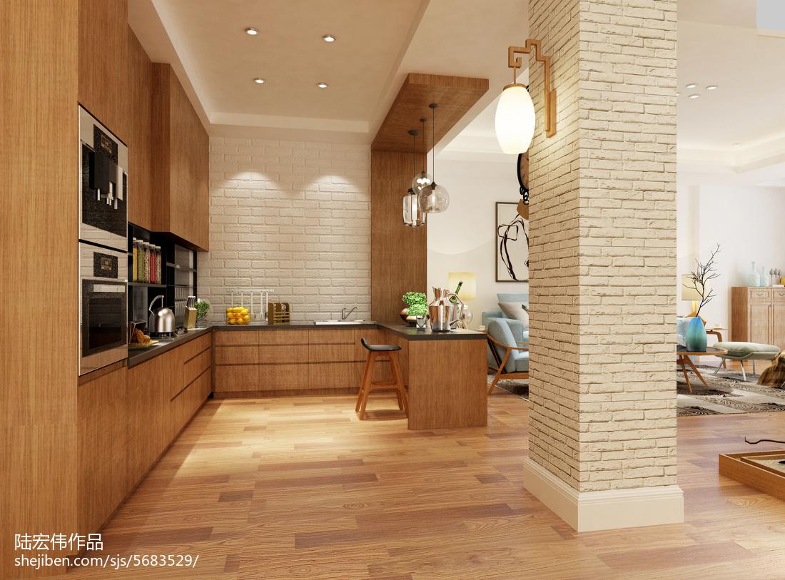 2018112平米日式复式厨房欣赏图片大全