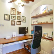 面积86平美式二居休闲区装修效果图片欣赏