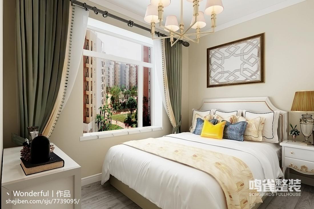 客厅改卧室效果图_房间设计图卧室图片大全-土巴兔装修效果图