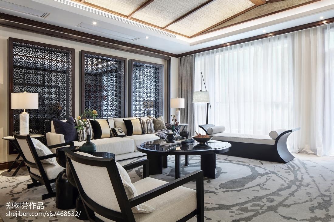 精选121平米东南亚别墅客厅装修图片