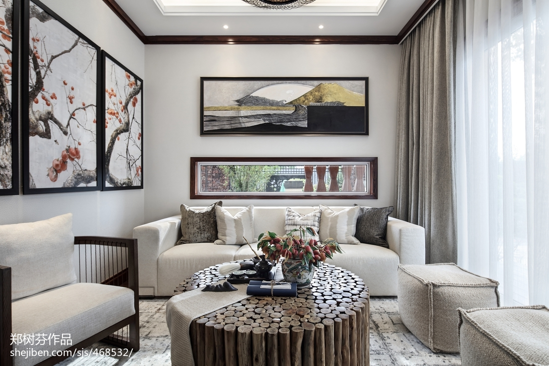 热门132平米东南亚别墅休闲区装修欣赏图片