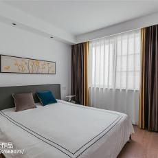 精美面积86平现代二居卧室效果图片大全