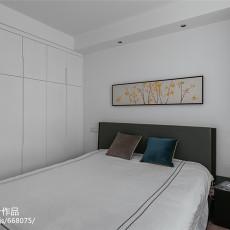 热门面积71平现代二居卧室装修图片欣赏