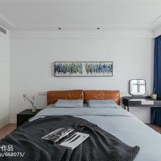 2018精选面积79平现代二居卧室装饰图