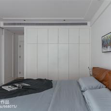 精美面积79平现代二居卧室装修设计效果图片大全
