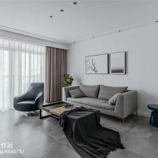 精选面积84平现代二居客厅装饰图片欣赏