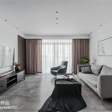 简单现代二居客厅设计图片