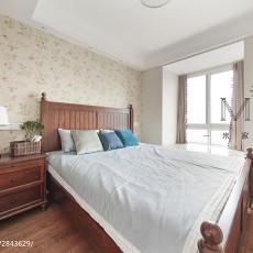精选面积94平美式三居卧室装修效果图片大全