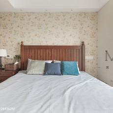 201899平米三居卧室美式效果图片