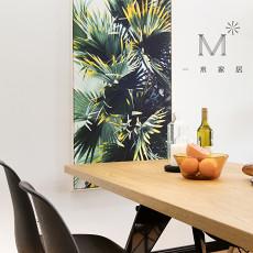 大小105平现代三居餐厅装修设计效果图片大全
