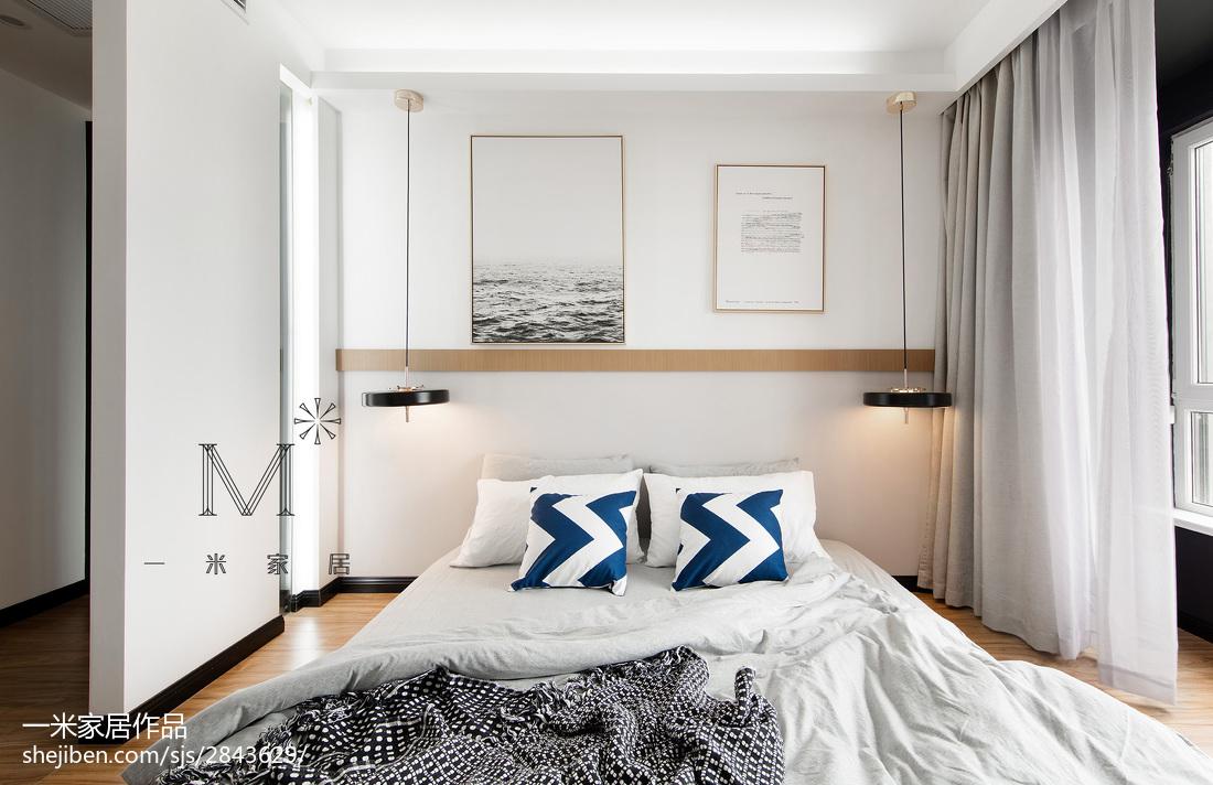 明亮114平现代三居卧室装修图片