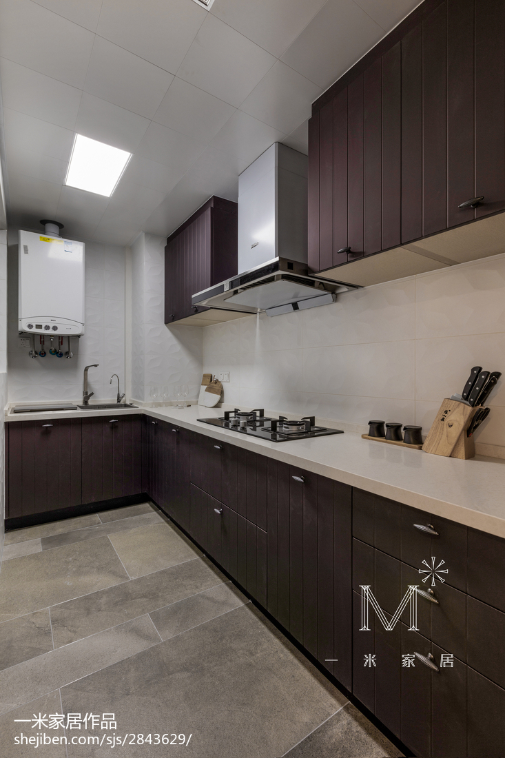 201897平米三居厨房北欧装修设计效果图片大全