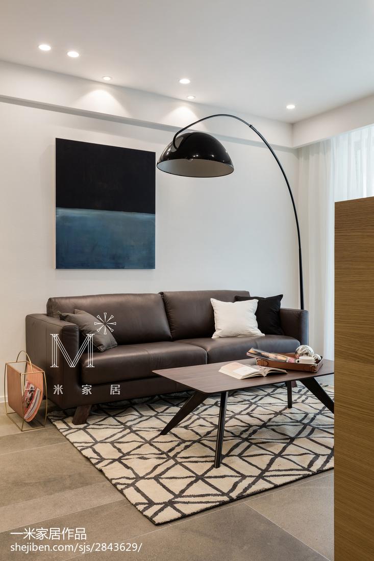 精美97平方三居客厅北欧装修效果图片欣赏