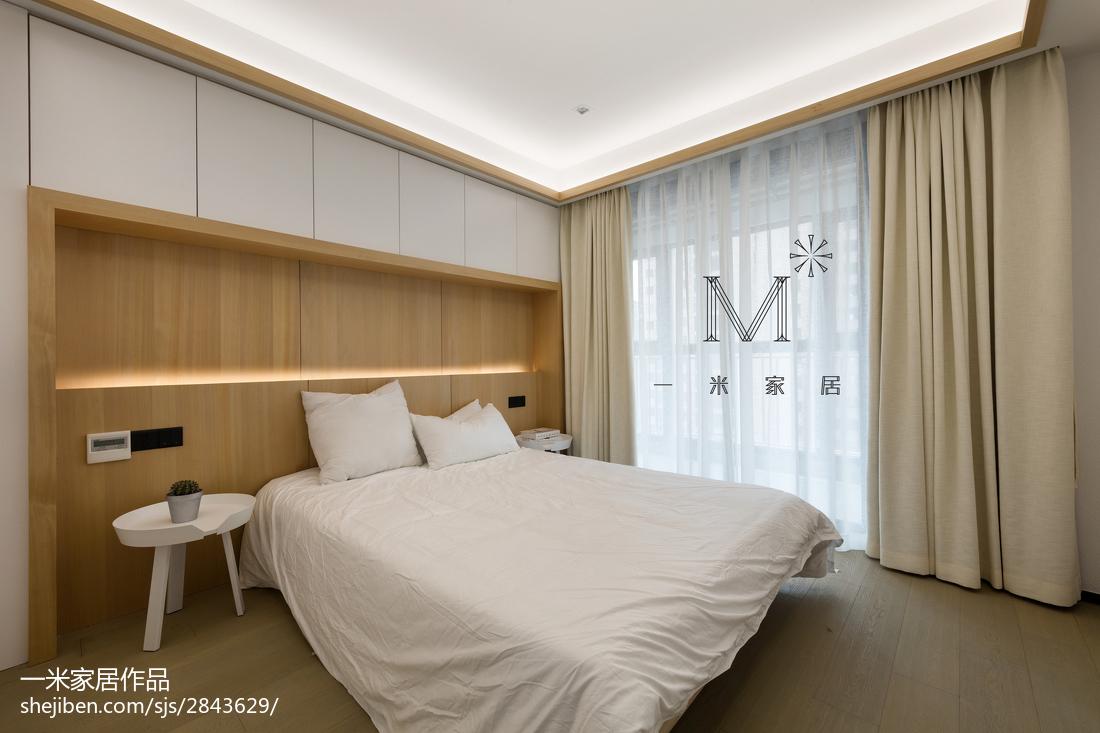 104平方三居卧室现代装修实景图片