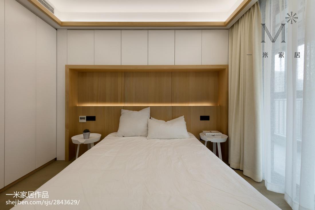 2018精选91平米三居卧室现代装修图片